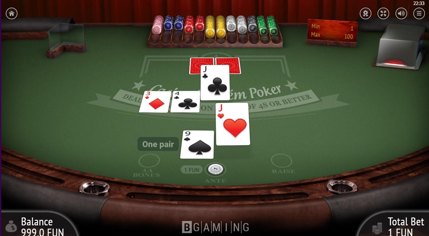 カジノホールデム1