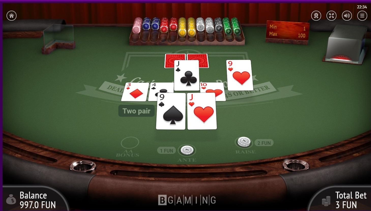 カジノホールデム3